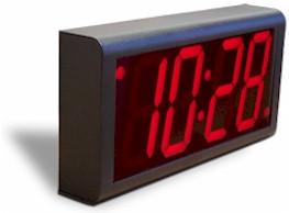 Цифровые часы настенные