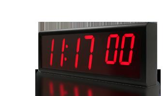 цифровой Ethernet настенные часы