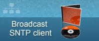 трансляции SNTP клиентское программное обеспечение CD + кейс